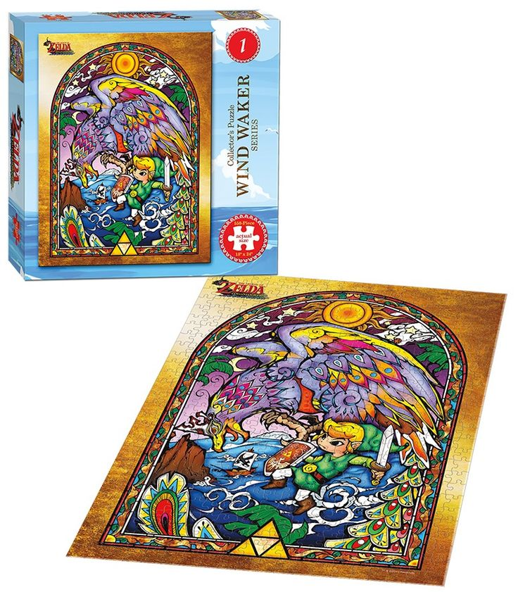 The Legend of Zelda Wind Waker 1 collector's puzzle