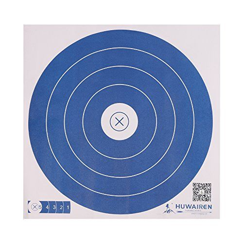 IRQ Archery Paper Targets for Backyard Shooting Practice Range, Targets for Shooting BB Guns Bows:   Archery Paper Targets for Backyard Shooting Practice Range, Targets for Shooting BB Guns BowsbrDiameter: 16inch / 40cm brArchery paper target for shooting practice brBulls' eye archery paper targets,Printed to exacting official standards.brIt fits for shooting indoors or outdoors, short range or long range.brPackage: 10, 25, 50 and 100 Packs are available.brNormally it takes 7-14 days o...
