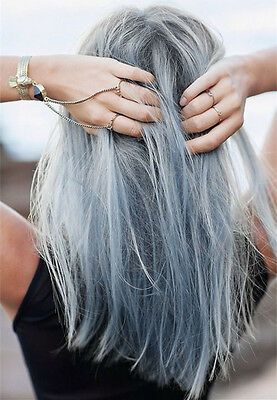 Details about A21 HAIR COLOR LIGHT GREY BERINA PERMANENT HAIR DRY CREAM FASHION UNISEX
