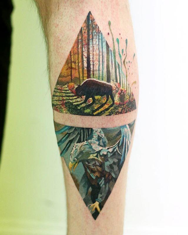 die 25 besten ideen zu bison tattoo auf pinterest b ffel tattoo b ffelkunst und berg tattoos. Black Bedroom Furniture Sets. Home Design Ideas
