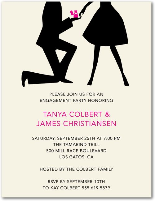 1000 images about Engagement Party Ideas – Sample Engagement Party Invitations