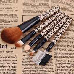 $3.44 5PCS Professional and Practical Soft Cosmetic Face Brush Powder Brush Sets