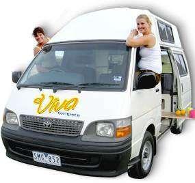Viva Campers - Campervan Hire adelaide,Campervans Australia-Viva Campers
