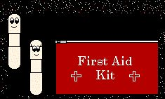 Paramedics Game for first aid badge