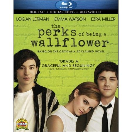 The Perks of Being a Wallflower (Includes Digital Copy) (Blu-ray) : Target