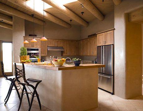 Santa Fe Home - Southwestern Style - Modern Architecture - House Beautiful