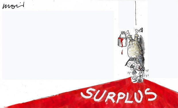 A cartoon from the Sydney Morning Herald's Alan Moir to mark tomorrow's Budget day.