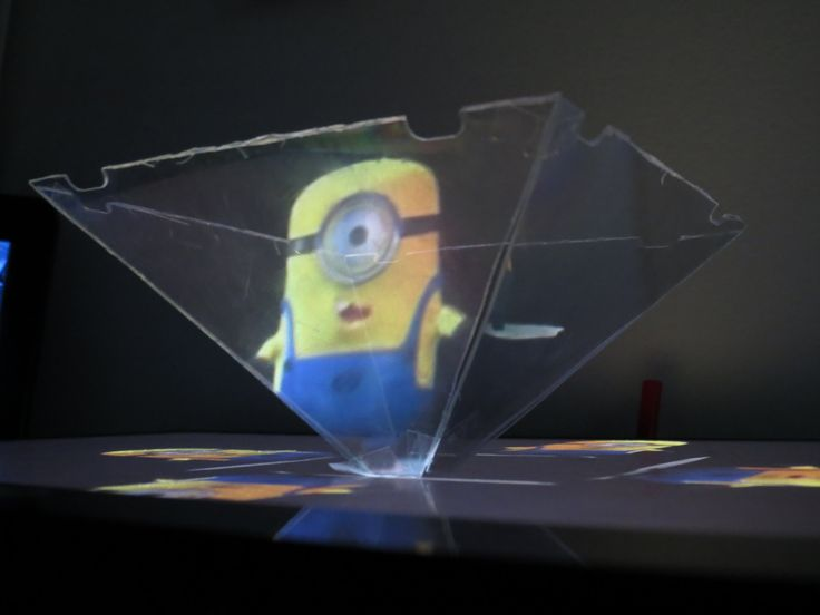 How to use your Smartphone or Tablet to make a 3D hologram projector - M...
