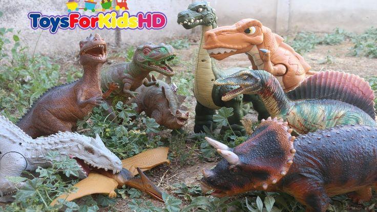 Dinosaurios para niños Colección de Dinosaurios Gigantes Aventura de Dinosaurios de Juguete