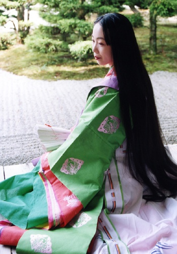 Kyoto Temple, reconstruction of the Heian dress