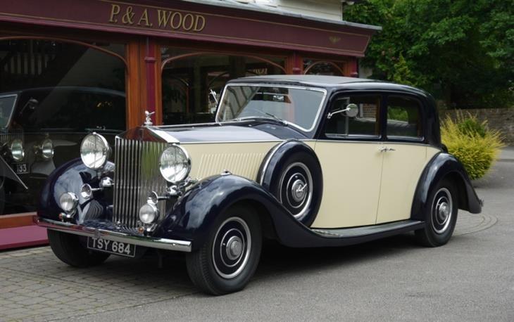 Classic Rolls Royce Phantom Iii 1936 Pillarless Saloon For