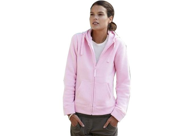 Lady-Fit Hooded Sweat Jacket at Ladies Sweaters | Ignition Marketing Corporate Clothing