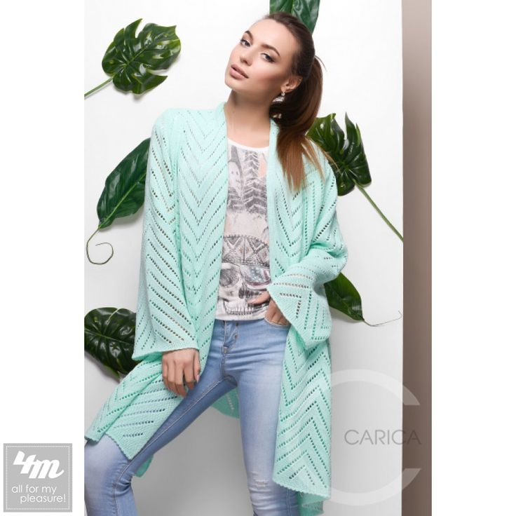 Кардиган Carica «25428» (Мята) http://lnk.al/48mm  Стильный вязаный кардиган прекрасно впишется в ваш весенний гардероб. Изделие свободного кроя с длинным рукавом. Ткань очень мягкая, приятная к телу с перфорированным узором.  #стиль #стильно #наряды #стильные #стильномодномолодежно #стильныйобраз #стильныештучки #стильное #стильномодно