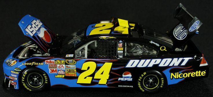 Jeff Gordon Signed NASCAR #24 Pepsi 2008 Impala SS 1:24 Action Die Cast Car (PA LOA) at Pristine Auction