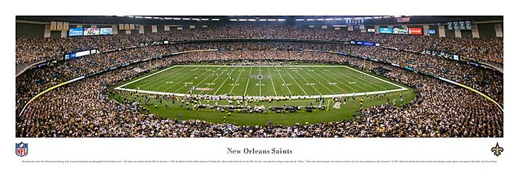 New Orleans Saints at the Superdome   # Pin++ for Pinterest #