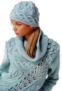 kötött pulcsi sapkával-pletený pulover s čiapkou