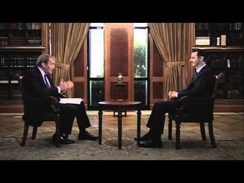 "Charlie Rose - Bashar al-Assad Assad Sends Message To Americans: ""We'll Do Anything To Prevent Another Crazy War"""