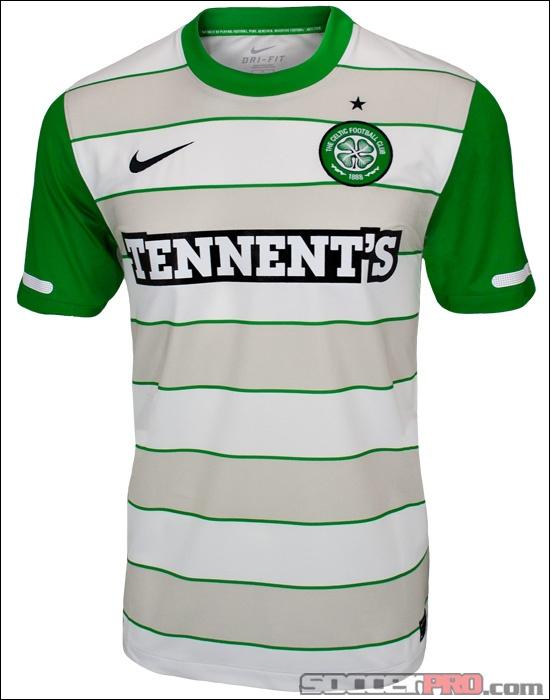 Nike Celtic Away Jersey 2011-2012...$55.99