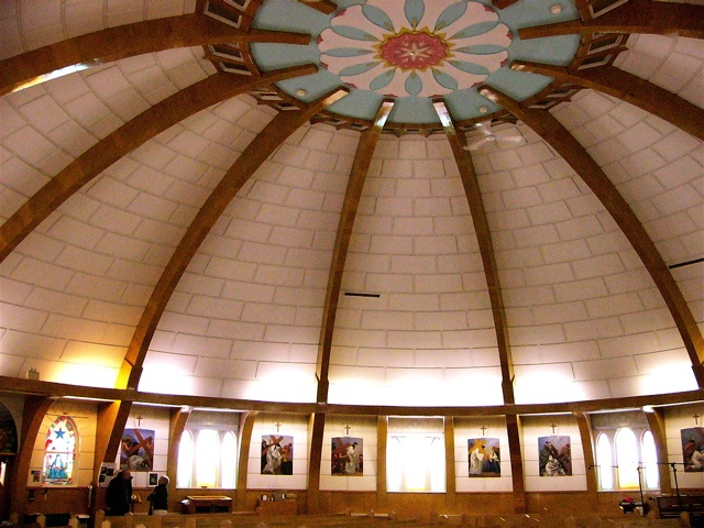 Inuvik, Northwest Territories, Canada - Inside Igloo Church