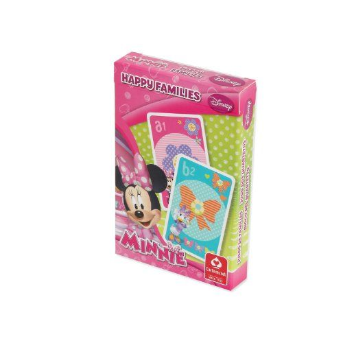 From 0.49:Cartamundi Disney Minnie Mouse Happy Families Card Game