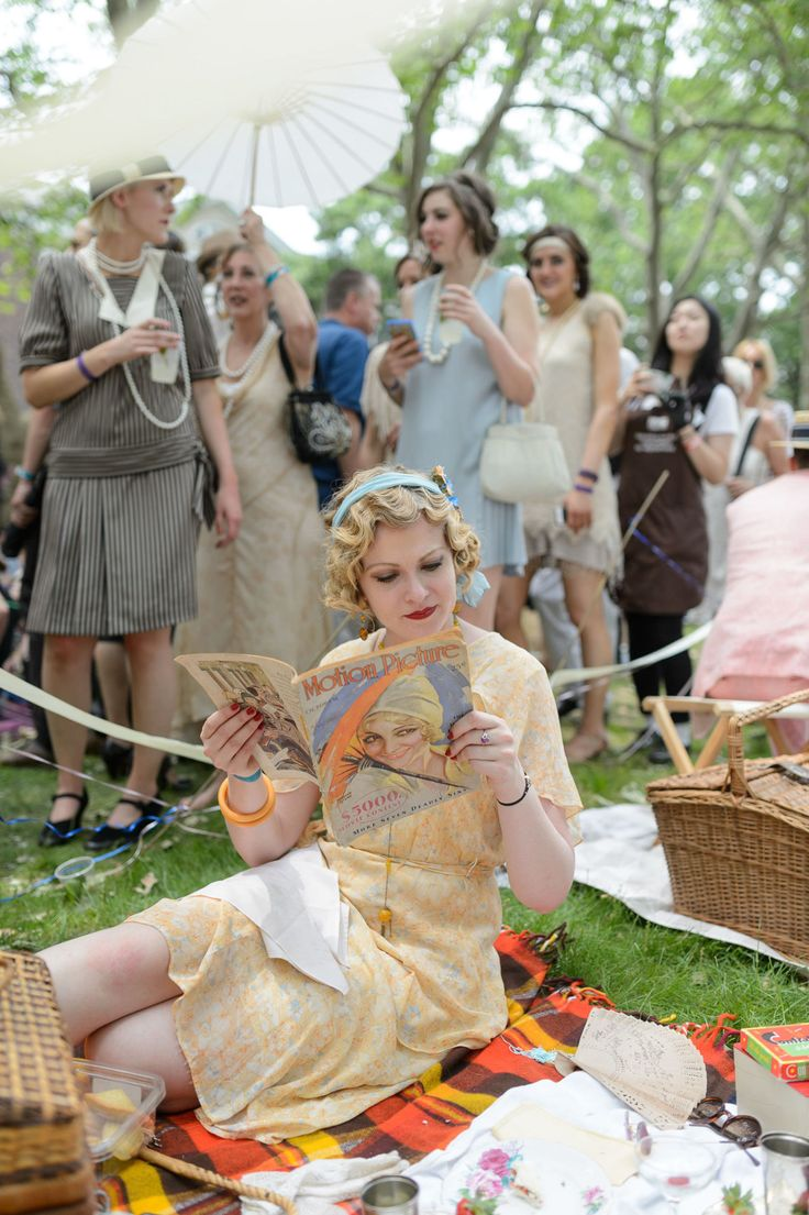 The Prettiest Vintage Looks From The Jazz Age Lawn Party