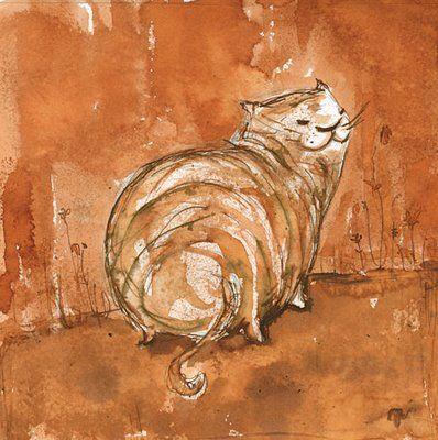 рыжий кот рисунок - Поиск в Google