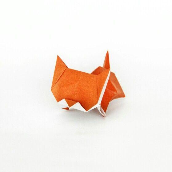 origami neko cat instructions