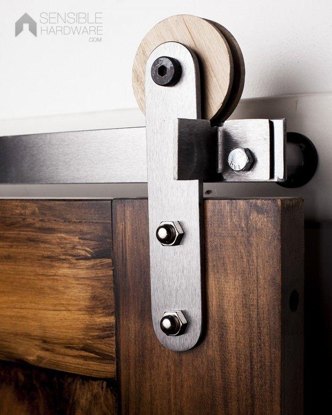 133 best images about barn door roller on pinterest for Barn door home decor