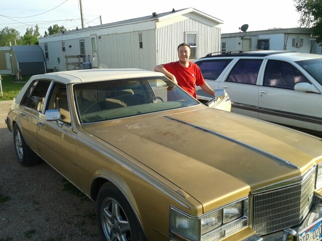 The old pimp mobile!