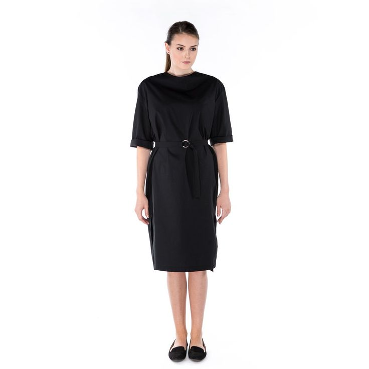 Minimal dress - 100% GOTS certified organic cotton