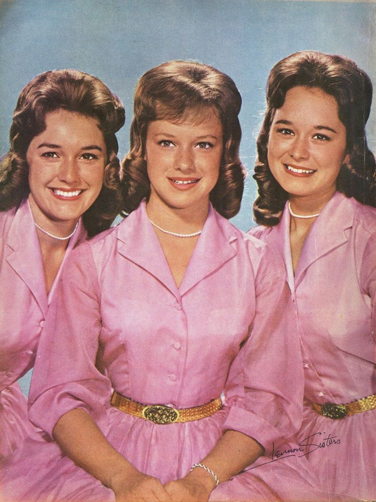 The Lennon Sisters Early 1960s The Lennon Sisters