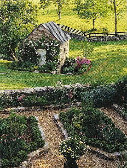 1000 imagens sobre jardinagem no pinterest cachoeiras for Rural garden designs australia