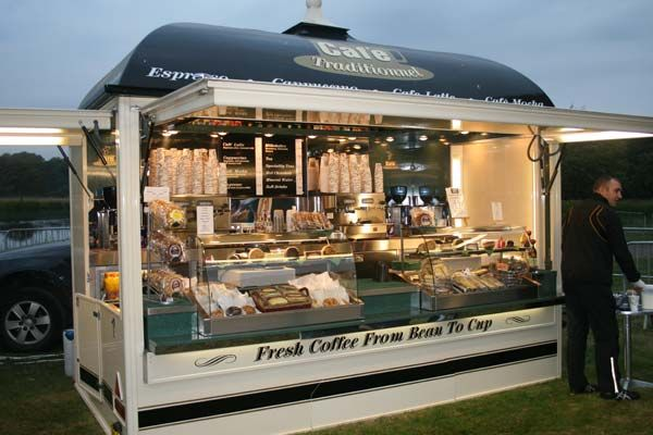 Coffee Shop: Mobile Catering: North West Mobile Event Caterers: Traditional Catering Specialists, Wigan, Lancashire, North West