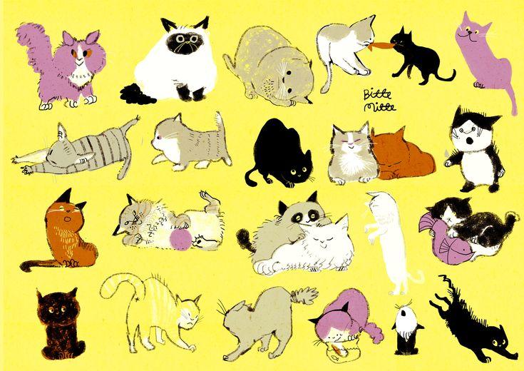 猫 by ももろ | CREATORS BANK http://creatorsbank.com/momoro66/works/276129