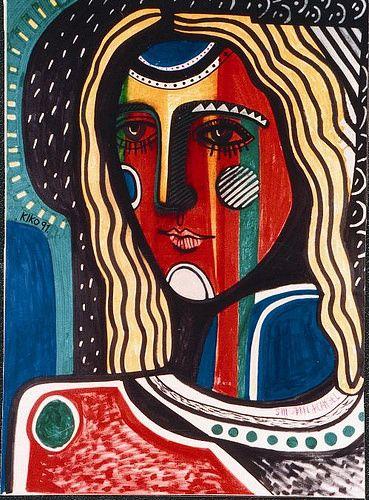 Arcangel San Gabriel-Kiko Arguello (1991) | by Camino Neocatecumenal | cruzgloriosa.org