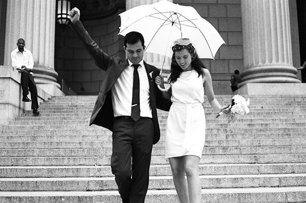 What to Wear to Your Courthouse Wedding : Brides