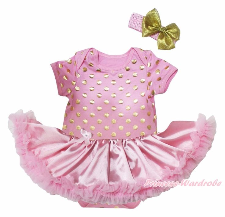 >> Click to Buy << Halloween Ghost Princess Birthday Bling 1st Crown MaMa Is My Bestie Hearts Gold Polka Dots Bodysuit Pink Tutu Set Nb-18m #Affiliate