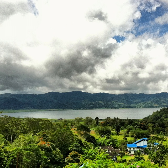 Tondano Lake, North Sulawesi, Indonesia