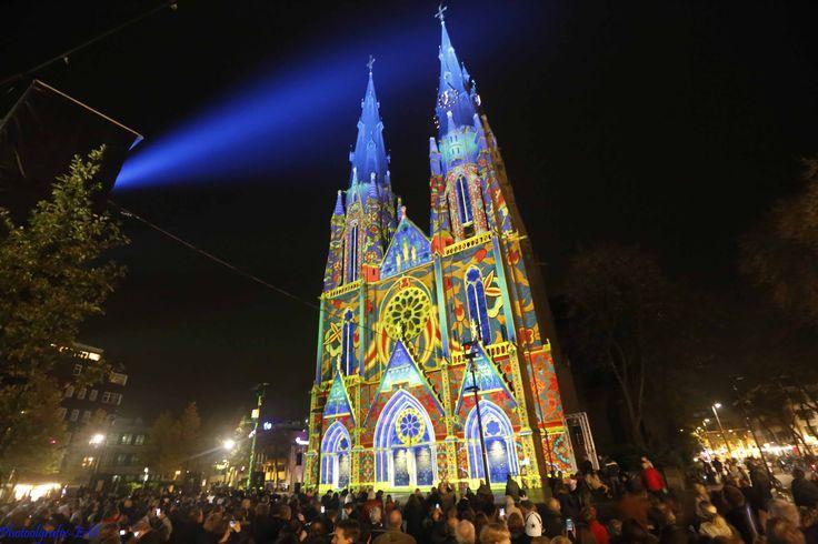 Licht kunst - Glow Eindhoven