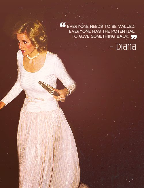 diana - everyone has the potential to give something back