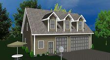 Garage Apartment Prefabricated Home Kit Prefab Garage Kit with Living Quarters