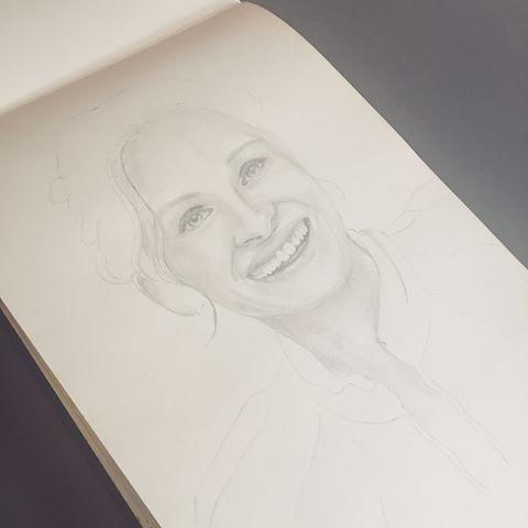 Dibujo a lápiz de #juliaroberts en proceso, para posterior aplicación de acuarela. .  .  .    @chechu.mj ------- #retratoalapiz #dibujo #art🎨 #artist #art #darwingpencil #dibujosalapiz #retrato #drawing #portraits #portraitdrawing #retratos #art_realism_ #dibujoblancoynegro #dibujosalapiz #artistic #artgraphite #artpencil #portraitpencil #sketchbook #sketch #watercolors #watercolor #acuarela #acuarelas #aquarelle #watercolour_painting #aquarellepainting #aquarelleart