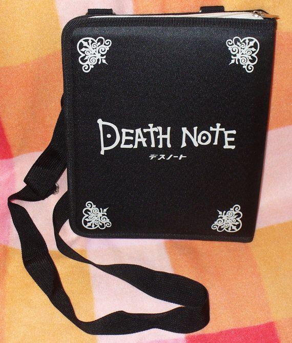 Death Note Book Bag Purse