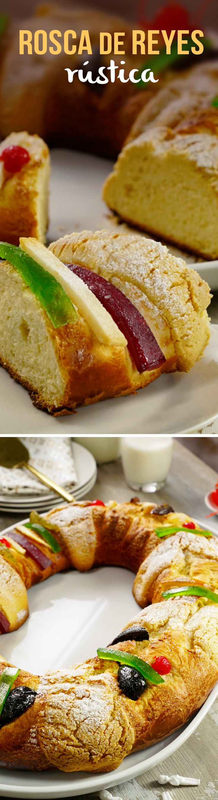 Prepara una Rosca de Reyes tradicional mexicana del Chef Irving Quiroz con esta receta.