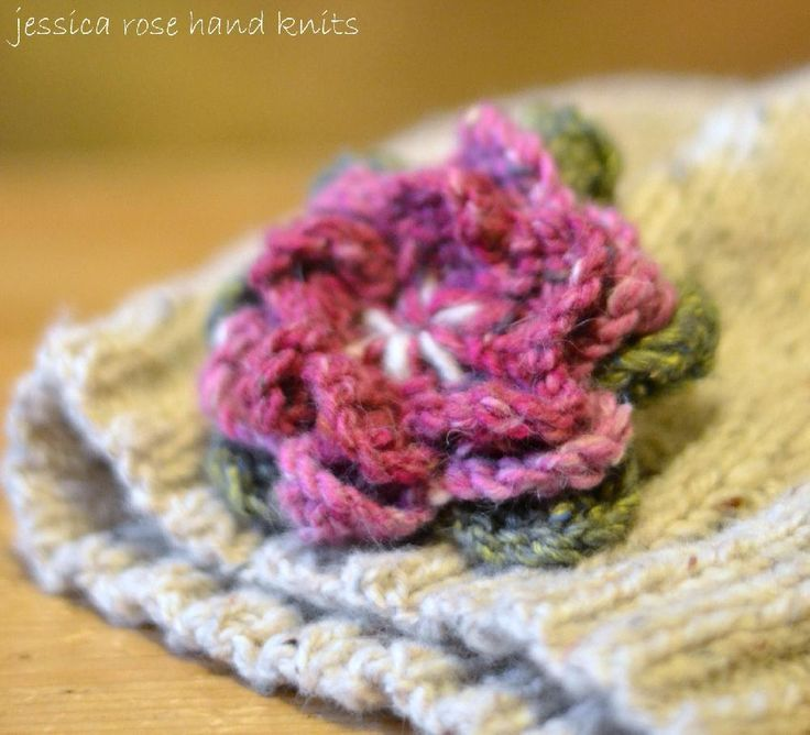 Baby, Child, Adult 'Little Petal' Slouchy Hat Knitting pattern by Jessica Rose Hand Knits | Knitting Patterns | LoveKnitting