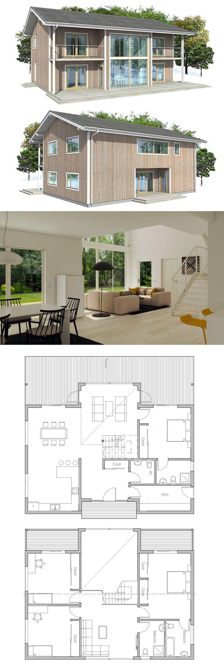 Plan de Maison Small House