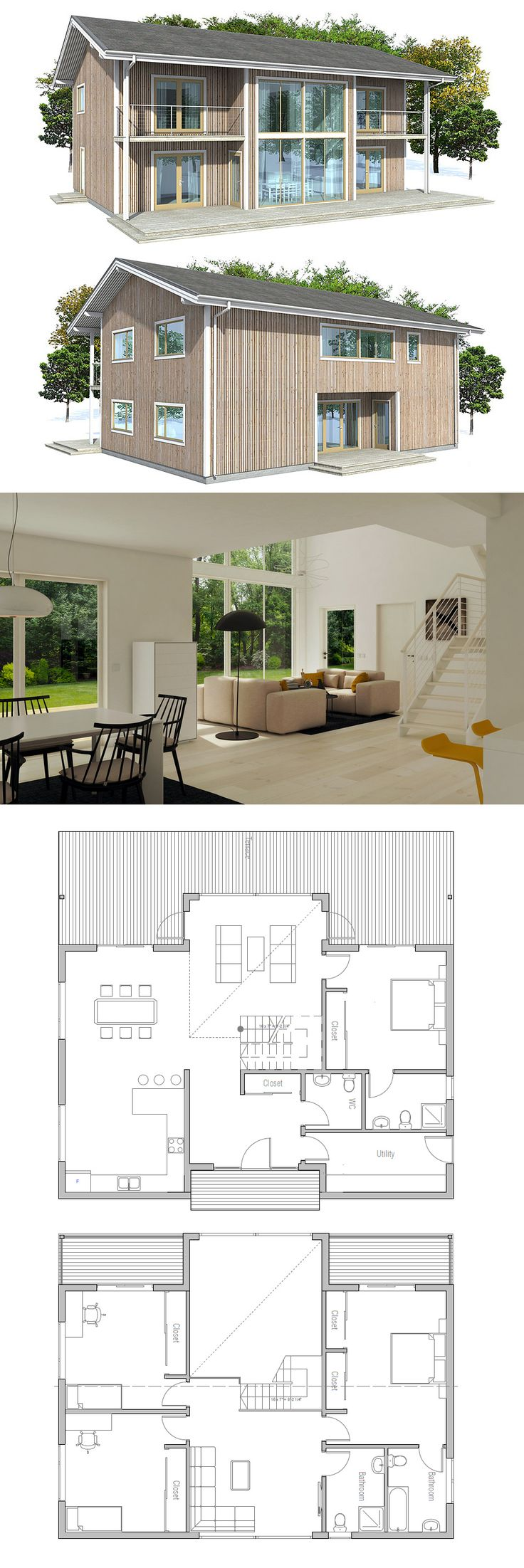 Small House Plan  CH16