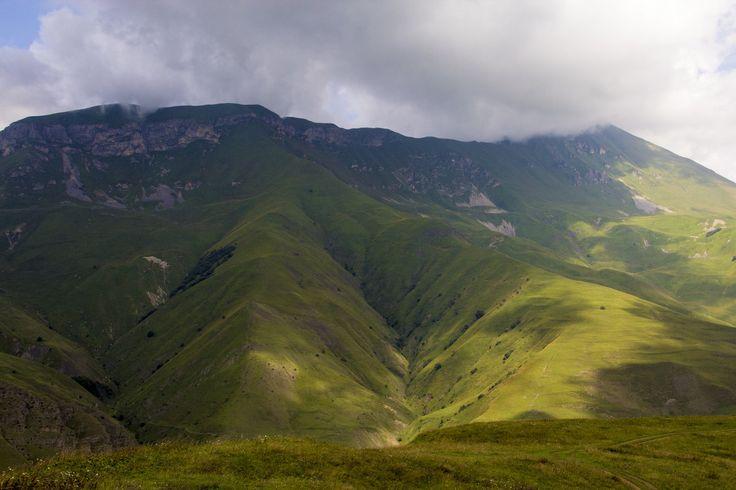 Куртатинское ущелье, Северная Осетия.