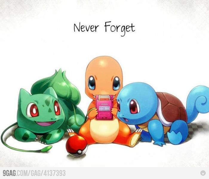 Don't forget these little guys!! We love the new gens but seriously respect to gen 1 ^__^ Charmander is my fave <3
