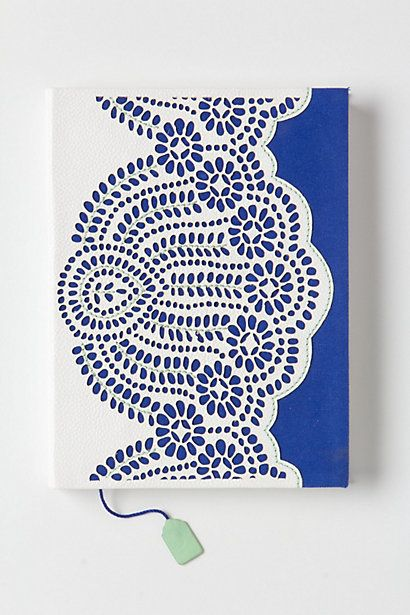 Steeping Thoughts Large Journal   #anthropologie